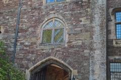 Entrance to castle courtyard