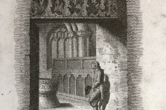 S Door, c 1812, from a sketch by Samuel Prout