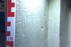 Pillar, NW corner, letter H