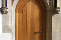 Door to Victorian vestry
