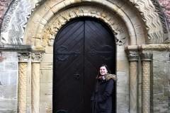 Romanesque W door