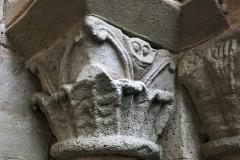 West door, capital, S side