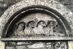 Unrestored tympanum c1988