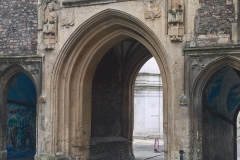 St John's gate from Broad St