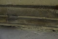 Mark on crypt rib 2