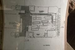 Plan of crypt