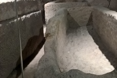 Sarcophagus in crypt