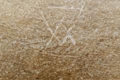 Mason's mark, intersecting triangles