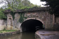 view of North end of tunnel