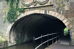North end of tunnel