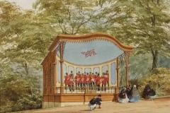Bandstand, Sydney Gardens, 19 century