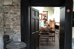Door from tower into chapel / schoolroom