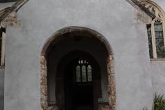 Ashton church porch