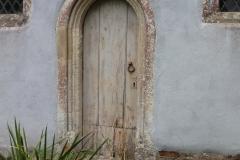 Priest's door in S wall