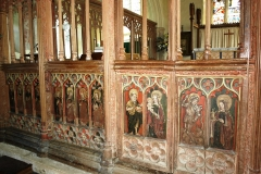 Screen, from nave