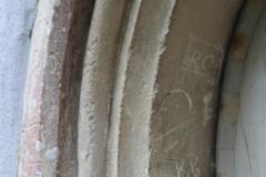 Priest's door arch intials:  RC, RB, M
