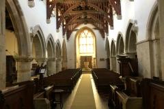 Interior towards nave