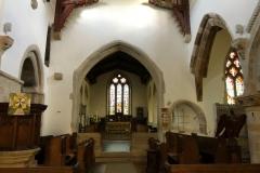 Interior towards chancel