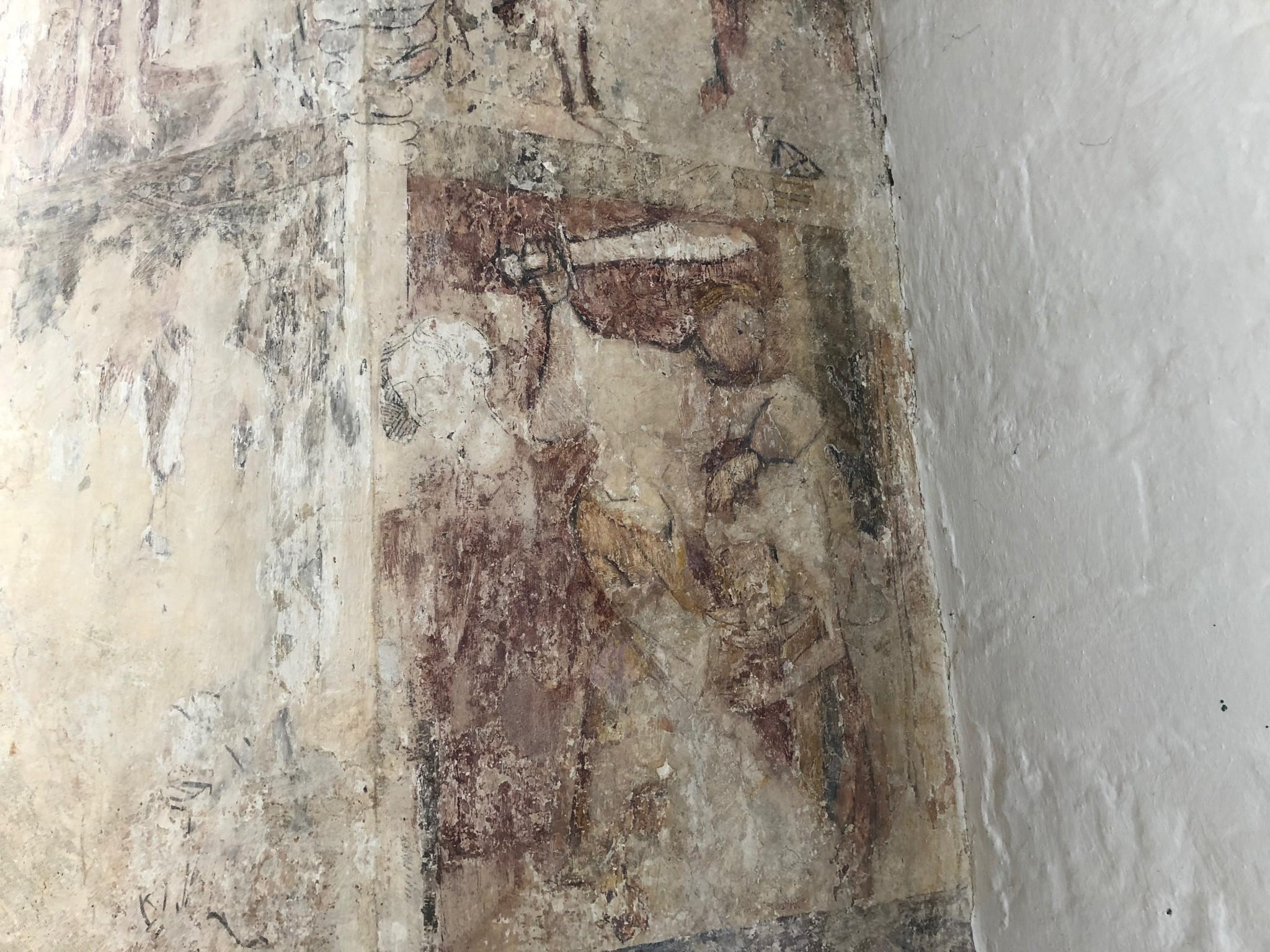 St Mary the Virgin, Cerne Abbas, Dorset – Raking Light