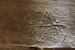 Marian mark/Mason's mark