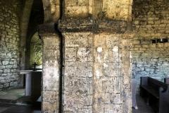 Central interior column