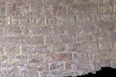 South porch wall