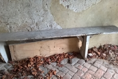 South porch bench