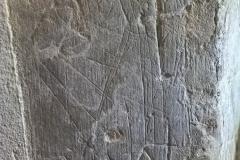 Cross, unidentified marks