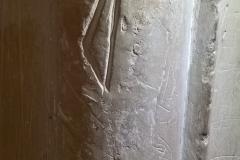 Unidentified marks