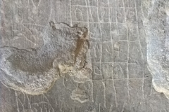 Sator square, pentagram, script