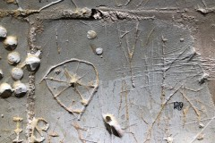 Star (eight pointed) with circle, IS