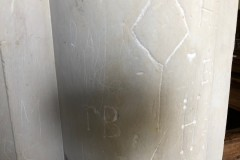 TB, HB, M, unidentified symbol