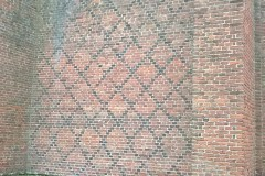 Grid work brickwork
