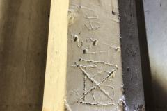 1696, TG, monogram