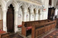 Choir and seats
