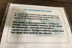 School desk information