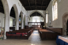 Interior eastwards