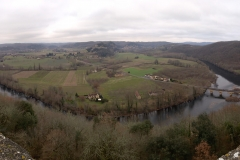 Panoramic view from castle