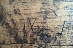 X , Circular mark