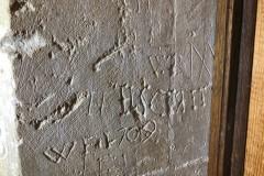 WB, Marian mark, M, H, ILSCRIT, WF, 1709