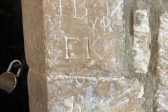 IB, WB, EK, WC, 1691, HM