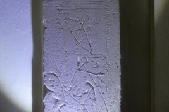 Pentagram(incomplete), other marks, 1952