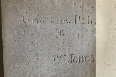 W, Coriolanus Rich, HB, W Jones, IB