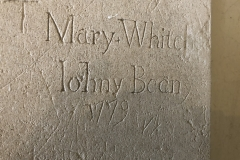 Mary Whitehead, Johny Bean, 1779