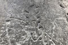 Ragged stafff, dot pattern, 1959
