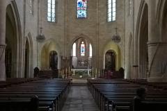 St Sacerdos, interior