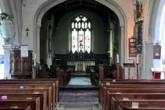 Interior, east facing