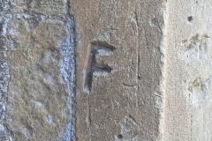 Initials, JW, F