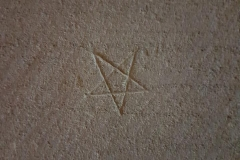 Pentagram, mason's mark