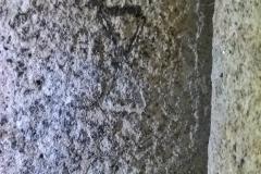 Masons mark, butterfly cross